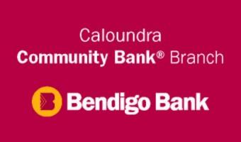 Logo Bendigo bank Caloundra Community bank branch